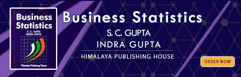 Business Statistics by S. C. Gupta