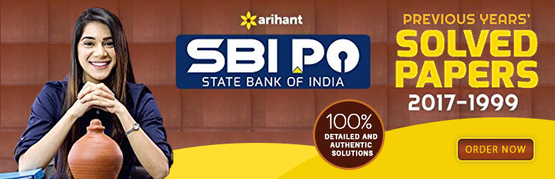 SBI PO Solved Papers 2017- 1999
