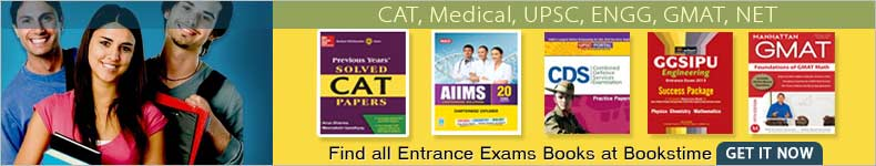 Find All Entrance Exam Books at Bookstim