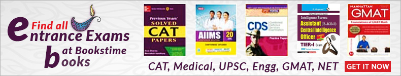 Find All Entrance Exam Books at Bookstim