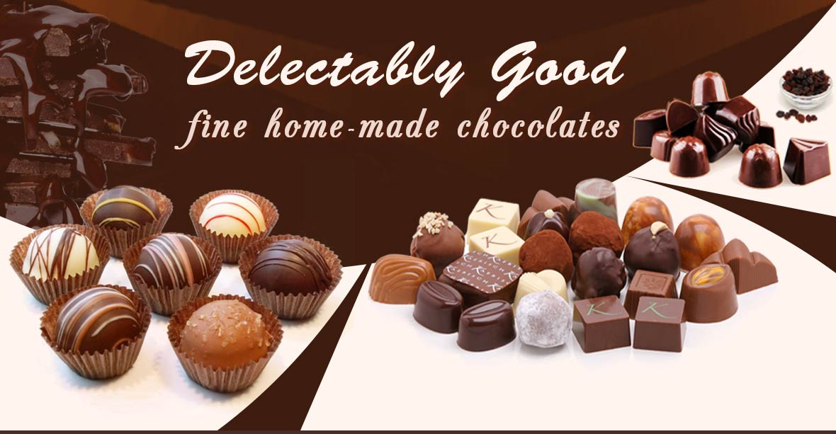 Delectably Good fine home-made chocolate