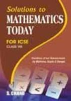 SOLUTION TO MATHEMATICS TODAY-8 (ICSE)