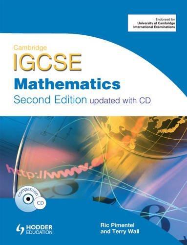 Cambridge IGCSE Mathematics (With CD)