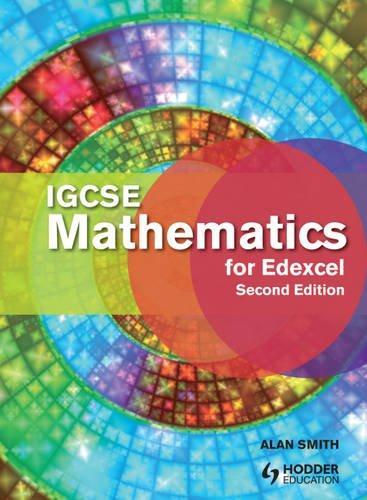 Igcse Mathematics for Edexcel. Student's Book