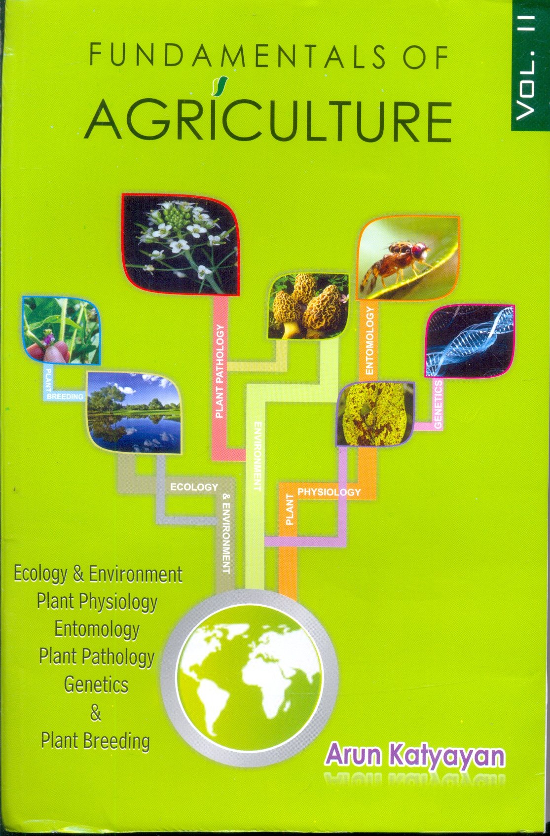 Fundamentals of Agriculture: Ecology and Environment Plant Physiology Entomology Plant Pathology Vol 2