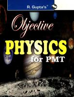Objective Physics For PMT