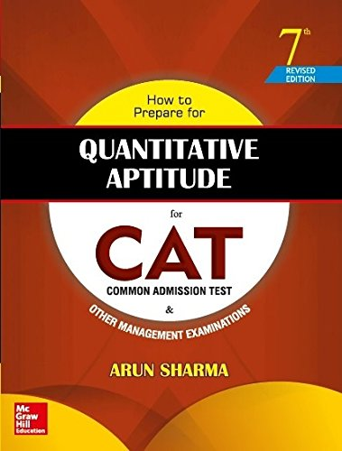 HOW TO PREPARE FOR QUANTITAIVE APTITUDE FOR THE CAT 7/ED. PB*