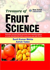 Treasure of Fruit Science: Includes Memory Based Previous Year Question Papers of ICAR JRF/SRF/NET/ARS Preliminary and IARI Ph.D (PB)