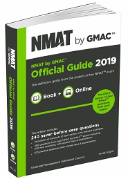 NMAT by GMAC Official Guide 2019