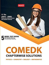 11 Years COMEDK Chapterwise Solutions 2018