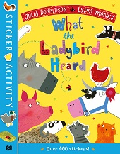 What the Ladybird Heard - Sticker Activity