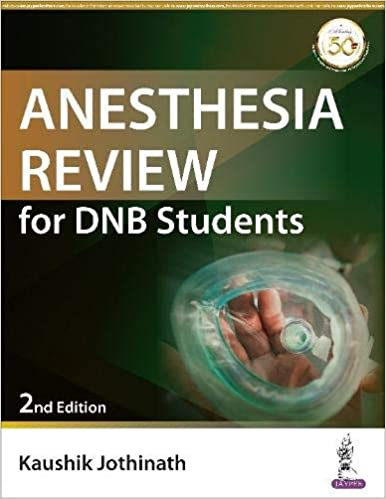 Anesthesia Review for DNB Students Paperback