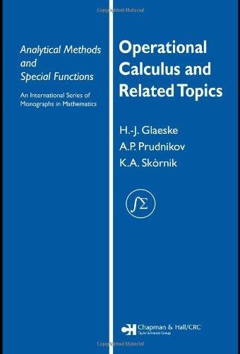 Operational Calculus and Related Topics