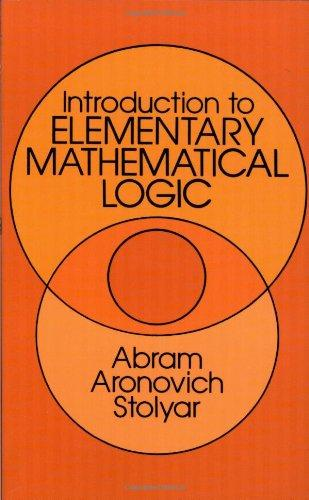 Introduction to Elementary Mathematical Logic