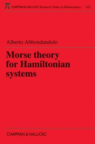 Morse Theory for Hamiltonian Systems