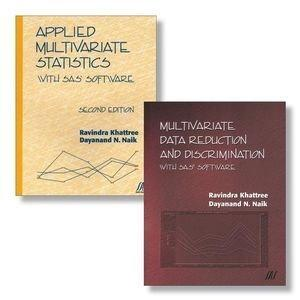 Applied Multivariate Statistics With SAS Software, Second Edition + Multivariate Data Reduction and Discrimination with SAS Software Set