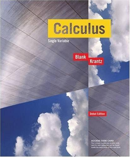 Calculus Single Variable, with Access Code Student Package, Debut Edition