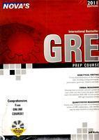Nova's GRE Prep Course 2011 (With CD)